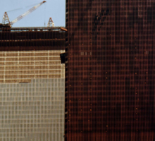 July, 1971 Construction The Twin Towers > Sticker