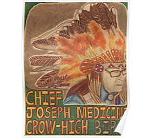Chief Joseph Medicine Crow High Bird Poster