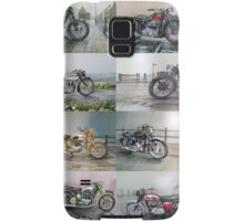 16 Classic British Motorcycles Samsung Galaxy Case/Skin