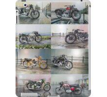 16 Classic British Motorcycles iPad Case/Skin
