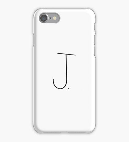 Initial J. iPhone Case/Skin