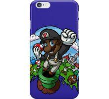 Black Mario and the Mushroom Kingdom iPhone Case/Skin
