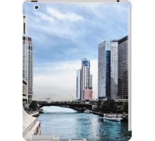 Chicago - View From Michigan Avenue Bridge iPad Case/Skin