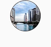 Chicago - View From Michigan Avenue Bridge Unisex T-Shirt