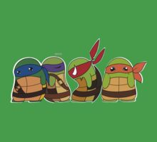 Jellybean Turtles by cartoonartist