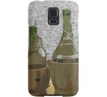 bottle of wine Samsung Galaxy Case/Skin