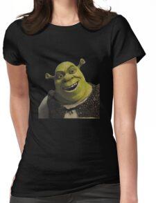 Shrek Movie Script Womens Fitted T-Shirt