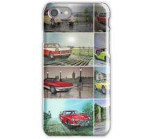 12 Classic British Cars iPhone Case/Skin