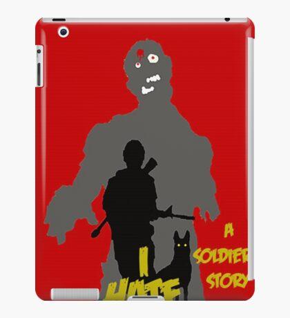 I HATE ZOMBIES iPad Case/Skin