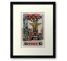 Odyssey Ki-Earth Framed Print