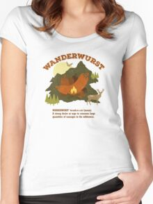 WanderWurst Women's Fitted Scoop T-Shirt