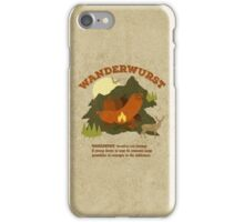WanderWurst iPhone Case/Skin