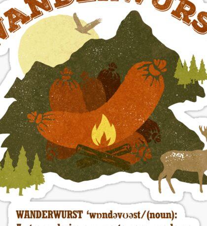 WanderWurst Sticker