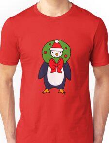 Christmas Reef Penguin Unisex T-Shirt