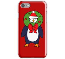 Christmas Reef Penguin iPhone Case/Skin
