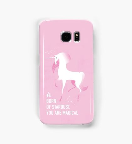 BORN UNICORN - AC GALAXY PHONE PLACEMENT Samsung Galaxy Case/Skin