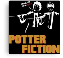 Potter Fiction - Parody Canvas Print