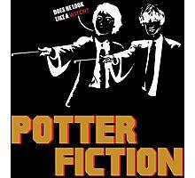 Potter Fiction - Parody Photographic Print