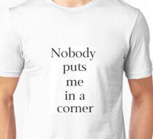 Nobody Unisex T-Shirt