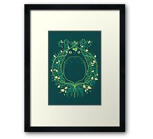 The Forest Keeper Framed Print
