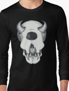 Cyclops Skull Long Sleeve T-Shirt