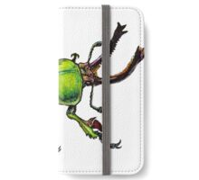 Green Stag Beetle  iPhone Wallet/Case/Skin
