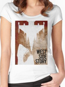 west side story Women's Fitted Scoop T-Shirt