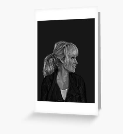 Parker Greyscale Greeting Card