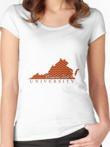 Style 6 - Virginia Tech Women's Fitted Scoop T-Shirt