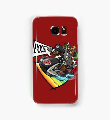 Black Mario races in Mario Kart 8 Samsung Galaxy Case/Skin