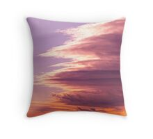 Cloud vortex Throw Pillow