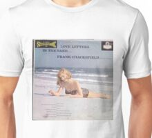 Love Letters In The Sand, Sexy Pinup Cover lp Unisex T-Shirt