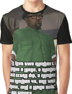 BIG SMOKE COMPLETE ORDER QUOTE Graphic T-Shirt