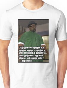 BIG SMOKE COMPLETE ORDER QUOTE Unisex T-Shirt