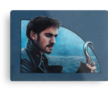 Captain Hook Metal Print