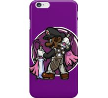 The Legend of Black Mario iPhone Case/Skin