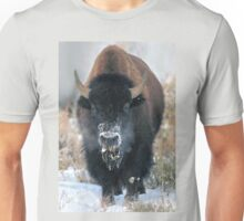 Snow-covered Bison at Yellowstone NP Unisex T-Shirt