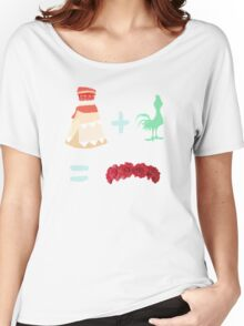 Dress Plus Animal Sidekick Equals Princess- Moana Women's Relaxed Fit T-Shirt