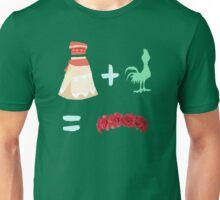 Dress Plus Animal Sidekick Equals Princess- Moana Unisex T-Shirt