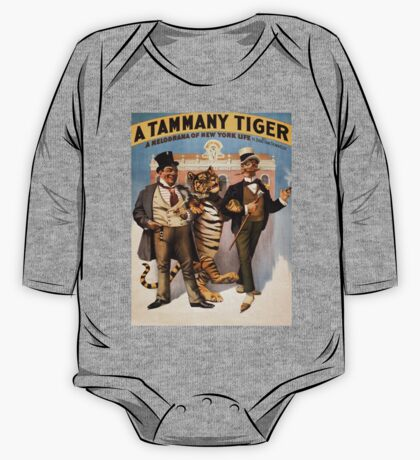 Vintage poster - Tammany tiger One Piece - Long Sleeve