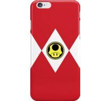 Mushroom Plumber Ranger iPhone Case/Skin