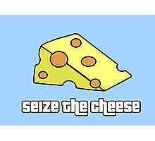 Seize the Cheese Photographic Print