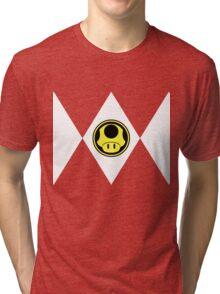 Mushroom Plumber Ranger Tri-blend T-Shirt