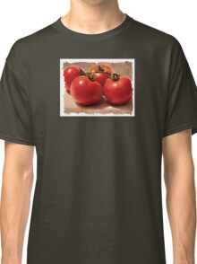 Vintage Grunge Tomatoes Classic T-Shirt