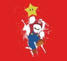 Super Mario Splattery T-Shirt Kids Tee