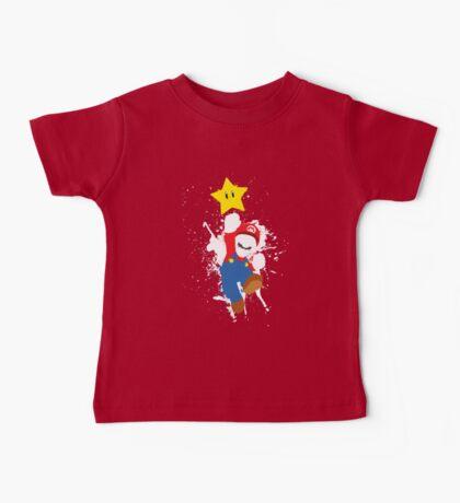 Super Mario Splattery T-Shirt Baby Tee