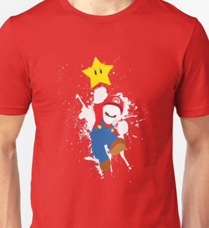 Super Mario Splattery T-Shirt T-Shirt