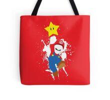Super Mario Splattery T-Shirt Tote Bag
