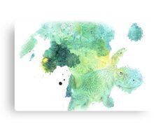Fishy Reptiles Canvas Print