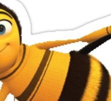 Bee Movie Trash Sticker